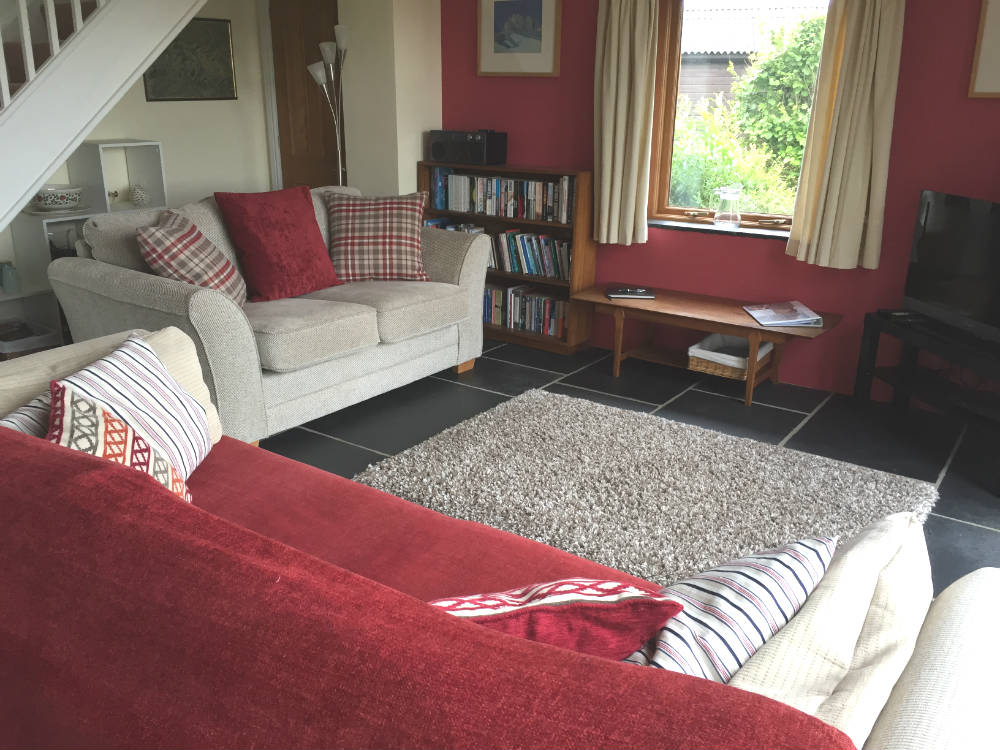 Tipperthwaite Barn - Living Area - Yorkshire Dales Holiday Let